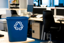 office recycling rates