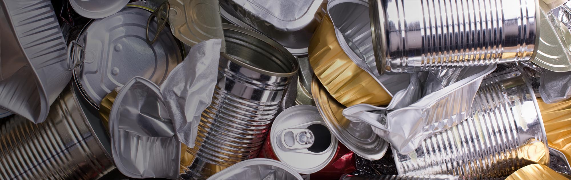 cans and metal recycling