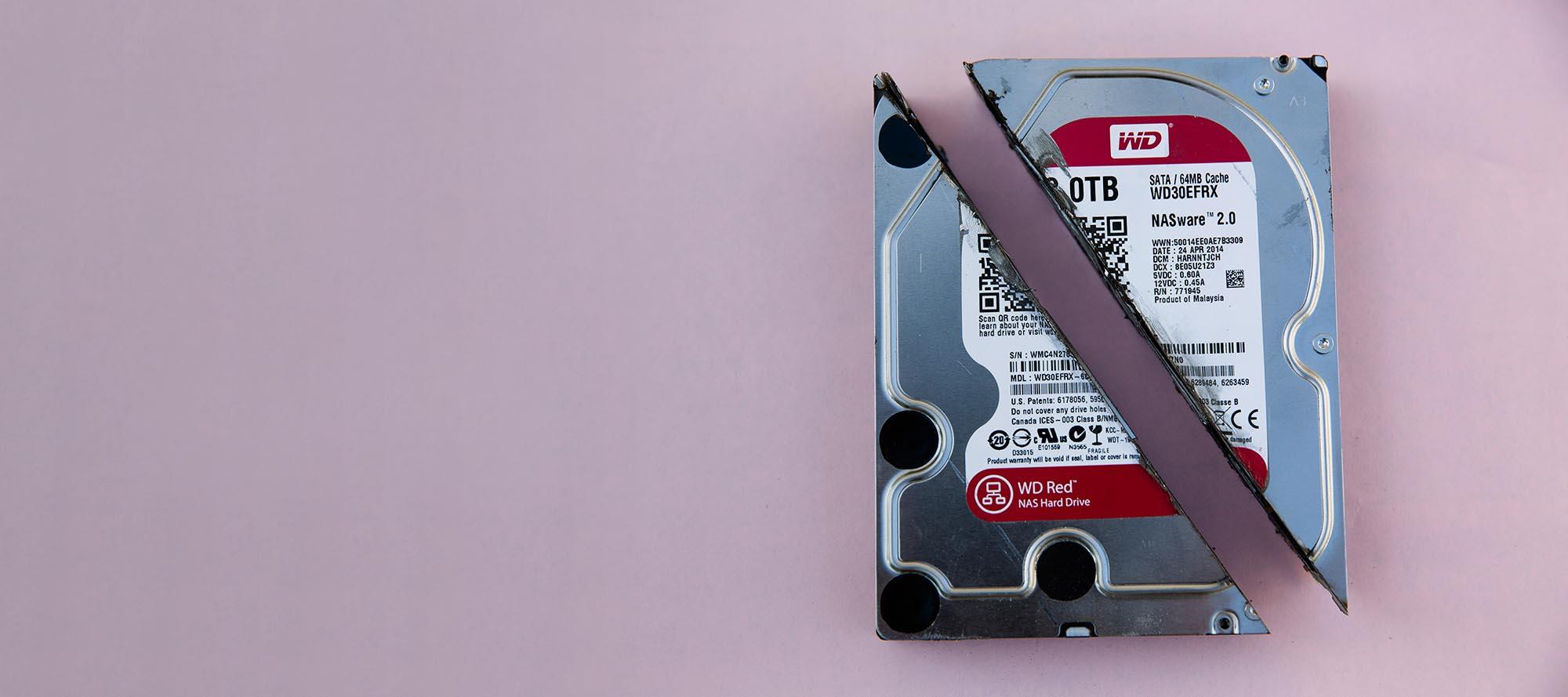 hard drive banner